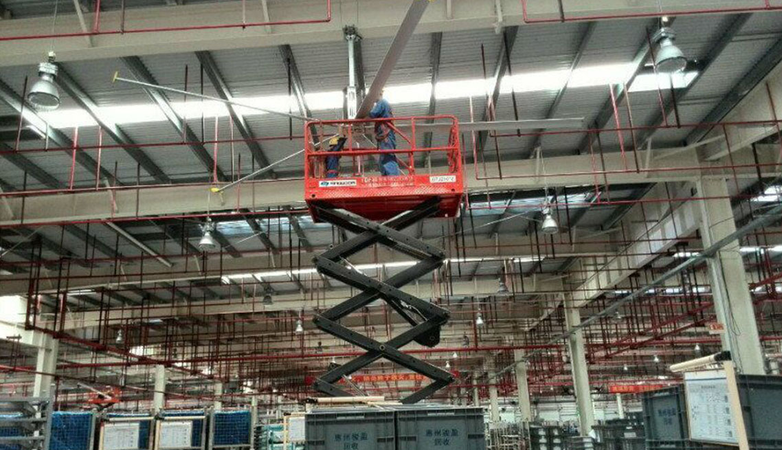 Industrial Blowers Suppliers : Hvls fans suppliers malaysia industrial