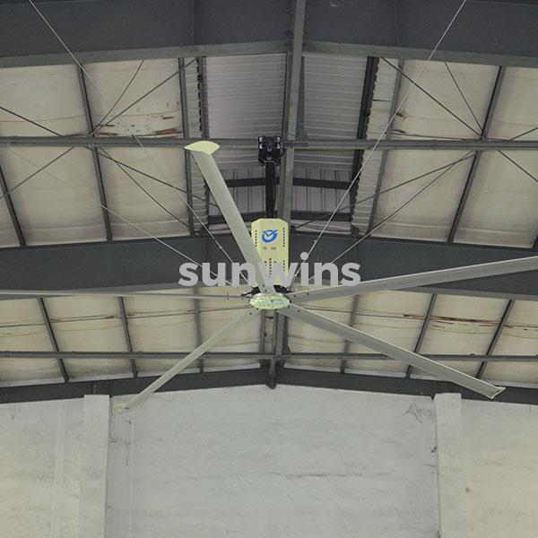 Sunwins Hvls Big Ceiling Fan Hv 5200 Sunwins Power M