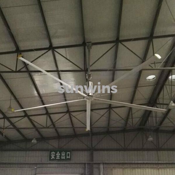 Large Ceiling Fan Malaysia: Sunwins HVLS BIG CEILING FAN HV 7200