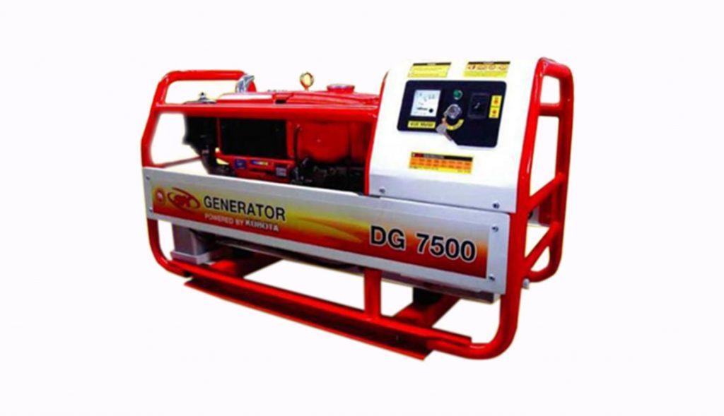Kubota Diesel Generator DG 7500
