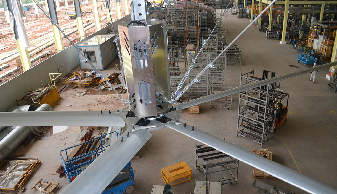 Hvls Fans Suppliers Malaysia Industrial Hvls Fans