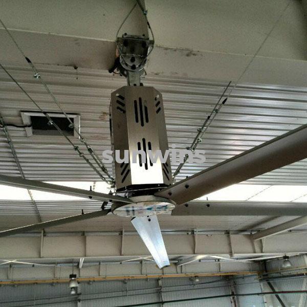 Sunwins Hvls Big Ceiling Fan Hv 4200 Sunwins Power M